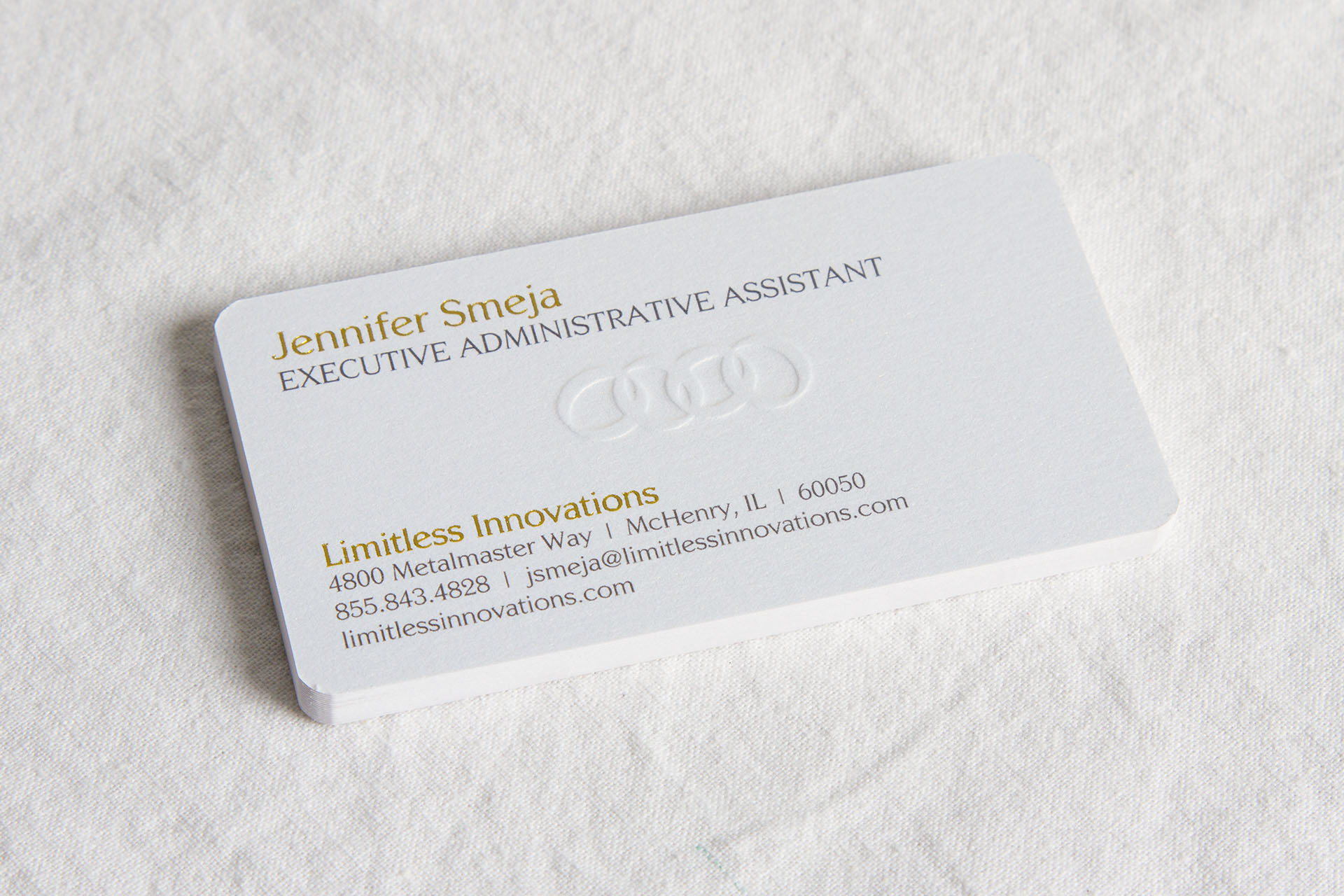 Limitless Innovations Business Cards Front