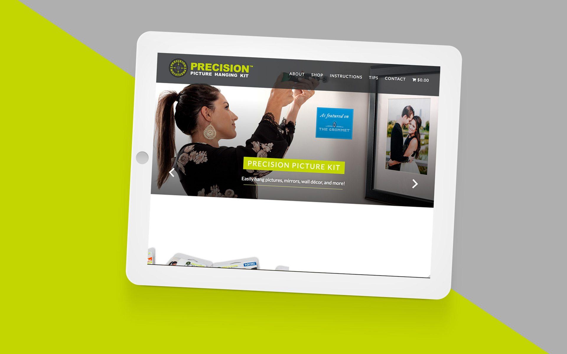 Precision Website Featured Image