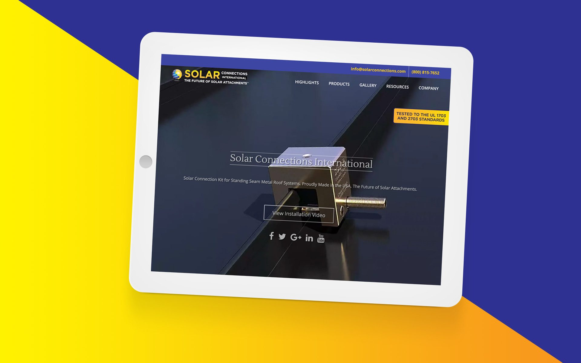 Solar Connections International Website Featured Image