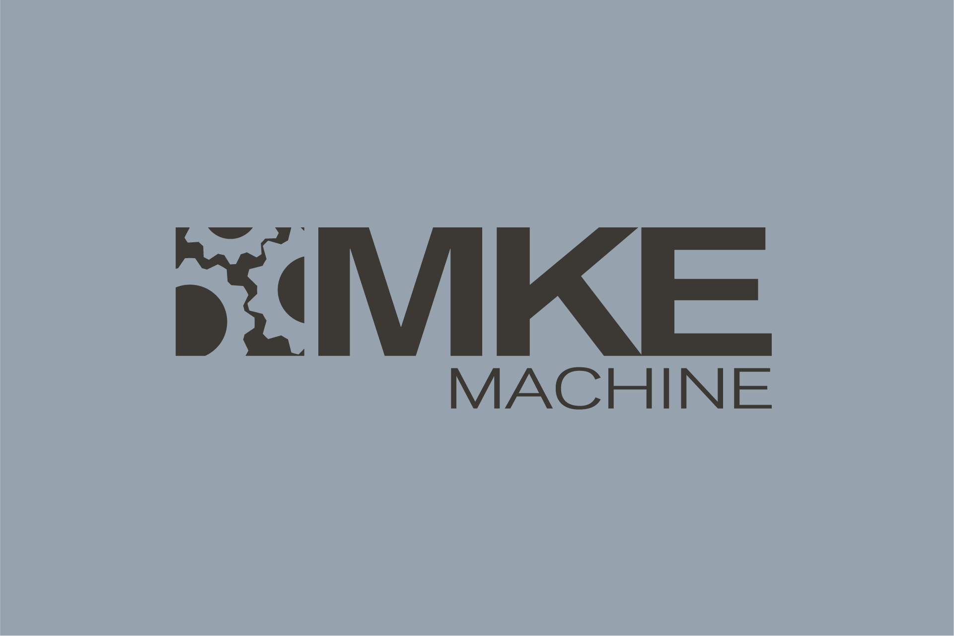 MKE Machine Logo Design Color Theory 12