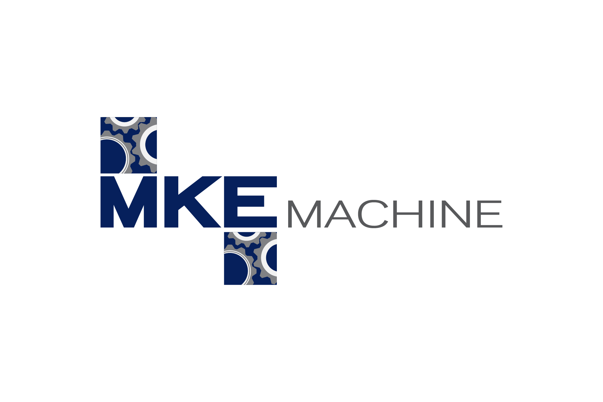 MKE Machine Logo Design Color Theory 2
