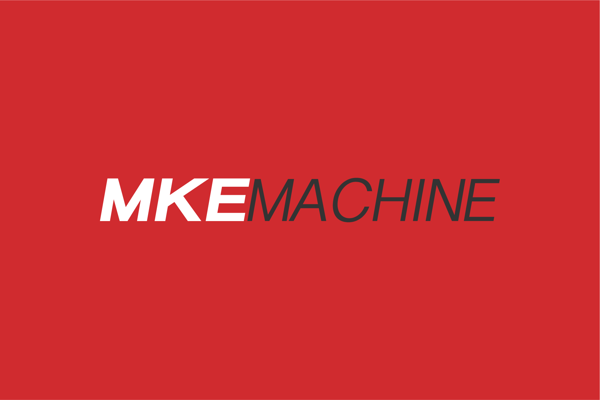 MKE Machine Logo Design Color Theory 3