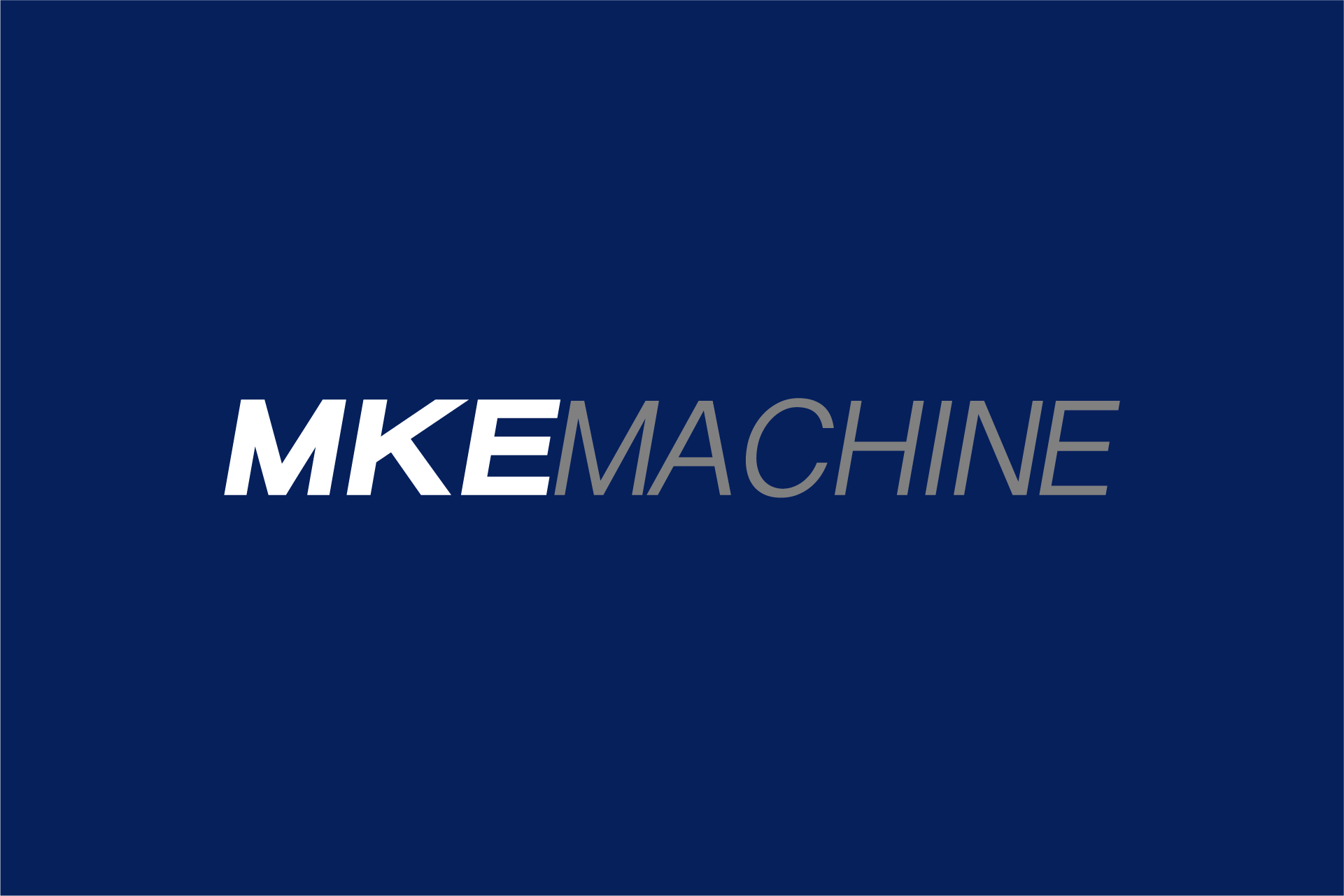 MKE Machine Logo Design Color Theory 6