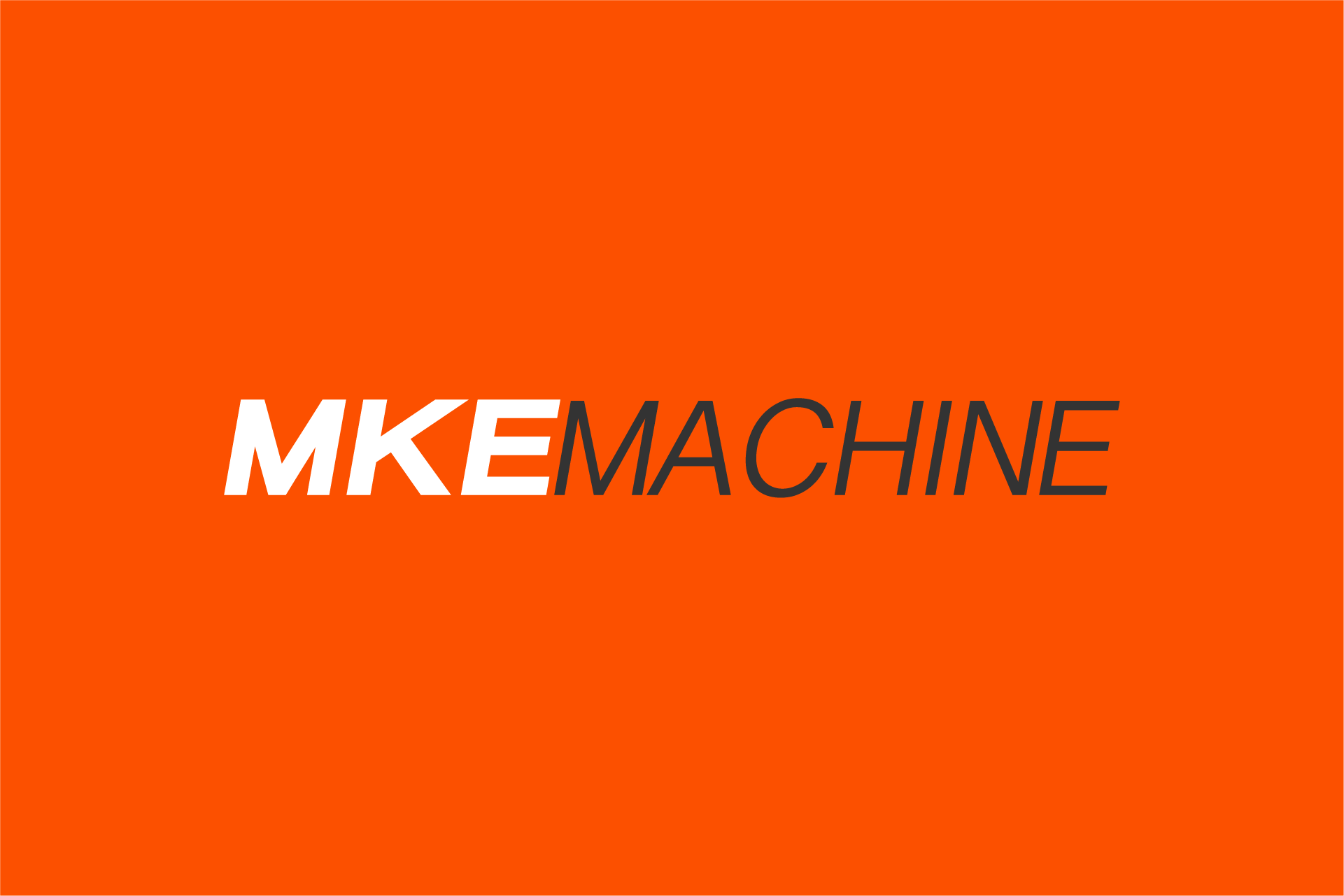 MKE Machine Logo Design Color Theory 7