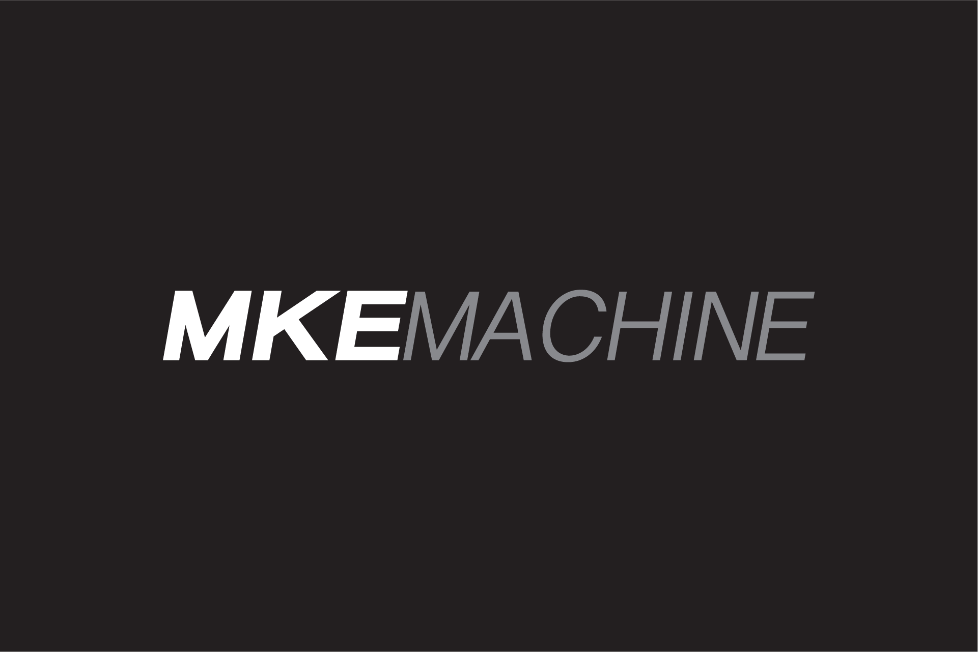 MKE Machine Logo Design Color Theory 8