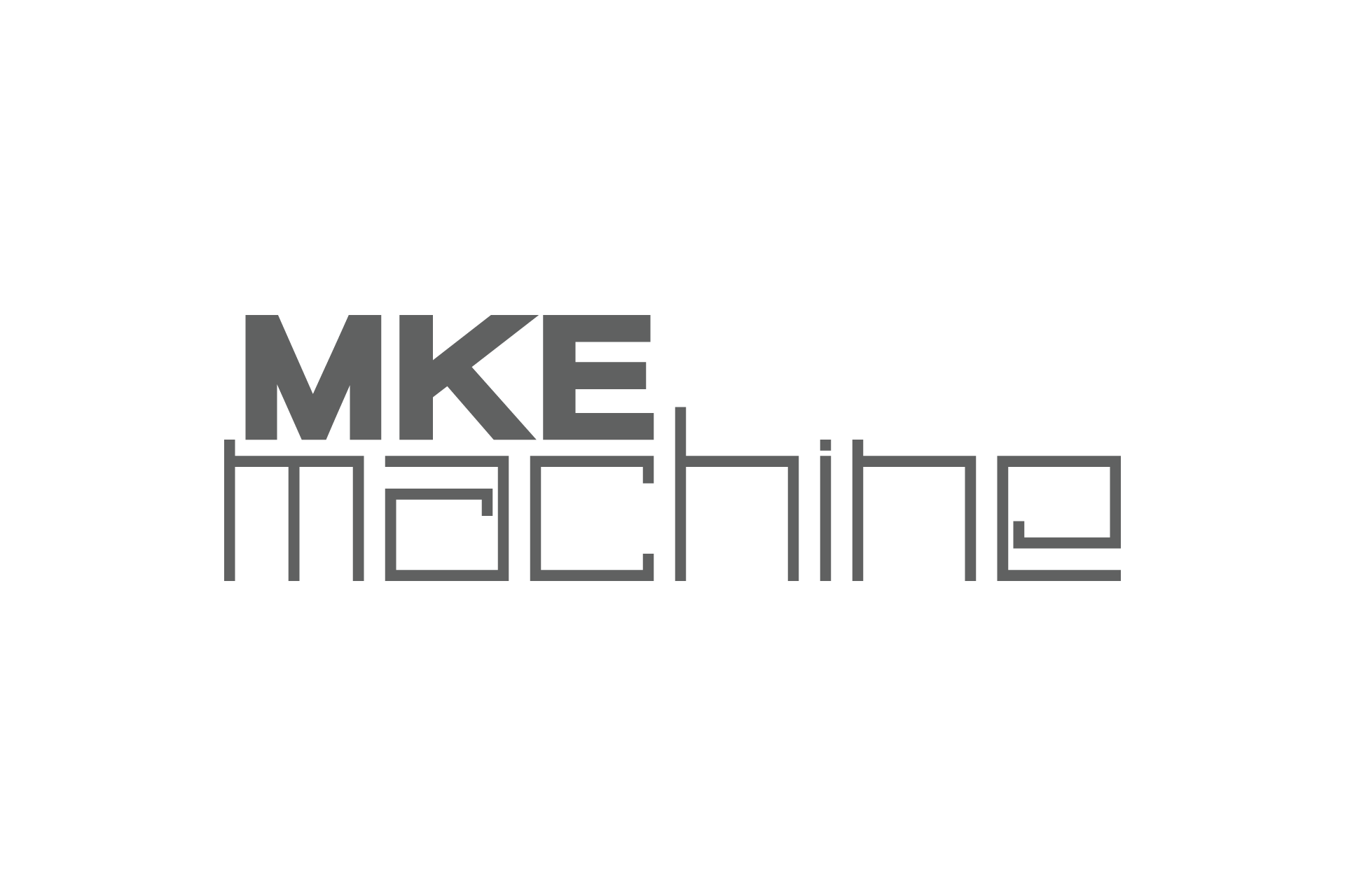 MKE Machine Logo Design Concepts 1