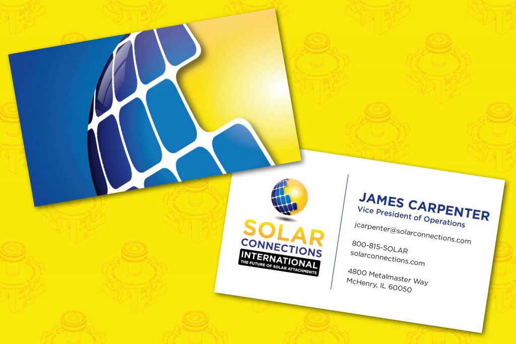 Solar Connections Business Cards Final Design